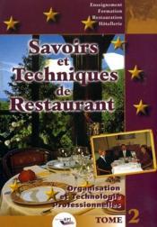 Restaurant savoirs techniques 1970 et 1983 - Couverture - Format classique