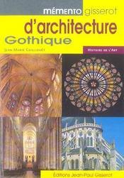 Memento Gisserot D'Architecture Gothique - Intérieur - Format classique