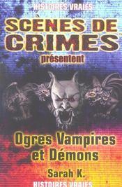 Ogres, Vampires Et Demons N9 - Intérieur - Format classique