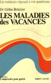 Les Maladies Des Vacances - Couverture - Format classique