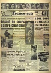 France Soir 8 Eme Edition N°1483 du 01/06/1946 - Couverture - Format classique