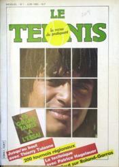 Tennis (Le) N°1 du 01/06/1983 - Couverture - Format classique