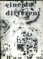 Cinema Different N° 26 - 28. Sommaire: Hans Richter Presentation, Le Pole Experimental, Les Tres Riches Heures Du Cinema Experimental... - Couverture - Format classique