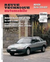 Rta 562.2 Rover 200 Et 400 (90-96) - Couverture - Format classique