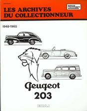 Peugeot 203 (1948/1960) N 11 - Intérieur - Format classique