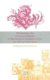 Dictionnaire des graveurs - Couverture - Format classique
