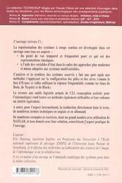 Automatique Systemes Et Asservisements Continus Modelisation Analyse Synthese Des Lois De Commande - 4ème de couverture - Format classique