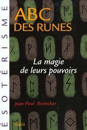 L'Abc Des Runes - Intérieur - Format classique
