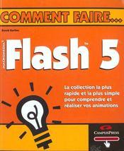 Comment Faire Flash 5 - Intérieur - Format classique