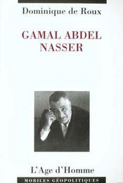Gamal Abdel Nasser - Intérieur - Format classique