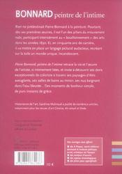Bonnard, peintre de l'intime - 4ème de couverture - Format classique