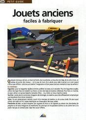 Petit Guide T.256 ; Jouets Anciens - Intérieur - Format classique