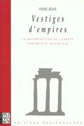 Vestiges D'Empires - Intérieur - Format classique