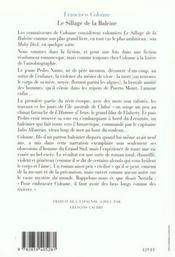 Le Sillage De La Baleine - 4ème de couverture - Format classique