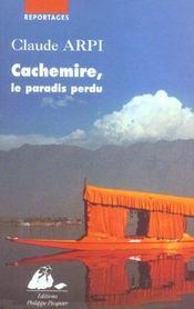 Cachemire, Le Paradis Perdu - Intérieur - Format classique