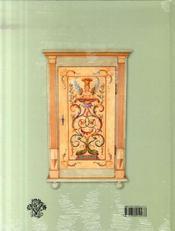 Modèles de peinture polychrome sur meubles - 4ème de couverture - Format classique
