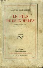 Le Fils De Deux Meres. - Couverture - Format classique