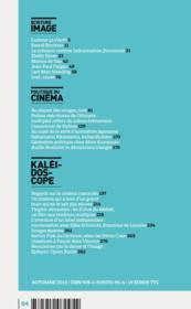 Mondes Du Cinema N.4 - 4ème de couverture - Format classique