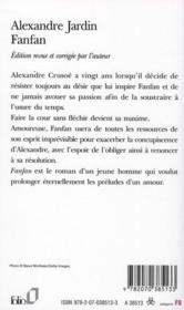 Livre fanfan alexandre jardin for Alexandre jardin fanfan roman