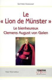 Le Lion De Munster - Couverture - Format classique