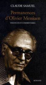 Permanences D'Olivier Messiaen ; Dialogues Et Commentaires - Couverture - Format classique