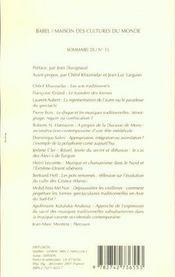 Internationale De L'Imaginaire T15 Les Spectacles Des Autres Babel 525 - 4ème de couverture - Format classique