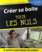 Creer Sa Boite Pour Les Nuls - Intérieur - Format classique
