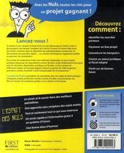 Creer Sa Boite Pour Les Nuls - 4ème de couverture - Format classique