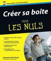 Creer Sa Boite Pour Les Nuls - Couverture - Format classique