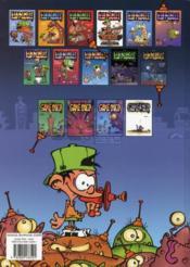 Kid Paddle t.9 ; boing ! boing ! bunk ! - 4ème de couverture - Format classique