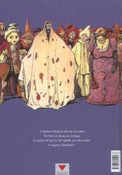 Gothic t.4 ; Machen house - 4ème de couverture - Format classique
