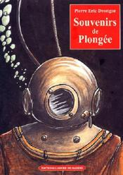 Souvenirs De Plongee - Couverture - Format classique