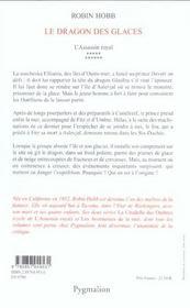 L'Assassin Royal T.11 ; Le Dragon Des Glaces - 4ème de couverture - Format classique