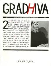 Cahier De Gradhiva N.2 - Couverture - Format classique