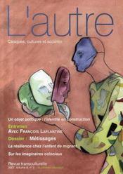 Revue L'Autre N.8-2 ; Métissages - Intérieur - Format classique