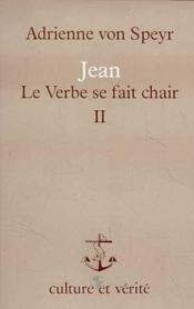Jean Verbe Fait Chair Tome 2 Avs2 - Couverture - Format classique