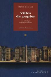 Villes De Papier - Couverture - Format classique
