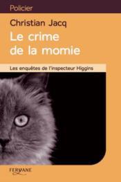 Le crime de la momie - Couverture - Format classique