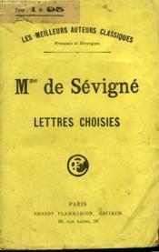 Lettres Choisies De Mme De Sevigne. - Couverture - Format classique
