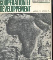 Cooperation Et Developpement - Bulletin De Liaison Des Agents De Cooperation Technique En Afrique Et Madagascar N°10 - Couverture - Format classique