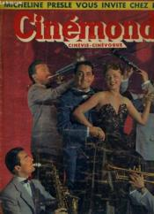 CINEMONDE - 18e ANNEE - N° 851 - JEANNE MOREAU avec JACQUES HELIAN et son orchestre dans Pigalle-saint-germain-des-près. - Couverture - Format classique