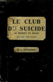 Le Club Du Suicide - Le Diamant Du Raja - Couverture - Format classique