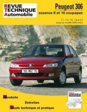 Rta 565.3 Peugeot 306 Essence (93/00) - Couverture - Format classique