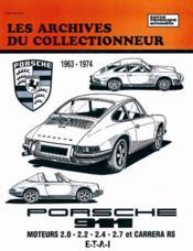 Porsche 911 (1963/1976) - Carrera Rs (1972/1976)N 29 - Couverture - Format classique