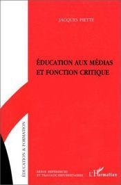 Éducation aux médias et fonction critique - Intérieur - Format classique