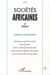 Societes Africaines Et Dispora N.9 - Couverture - Format classique
