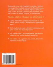 Pates - 4ème de couverture - Format classique