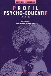 Profil Psycho-Educatif Vol.1 (Pep-R) - Intérieur - Format classique
