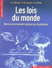 Les Lois Du Monde. - Intérieur - Format classique