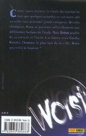 Worst T.2 - 4ème de couverture - Format classique